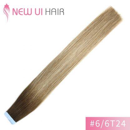 #6-2T24 tape hair