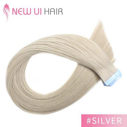 #Silver tape hair 01