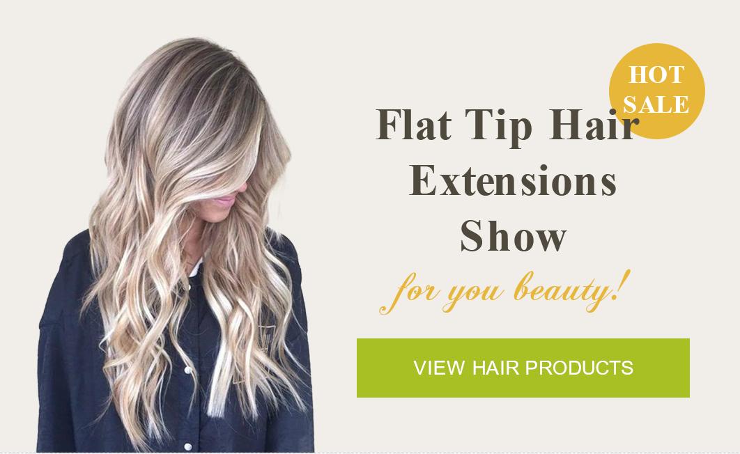 flat tip hair show