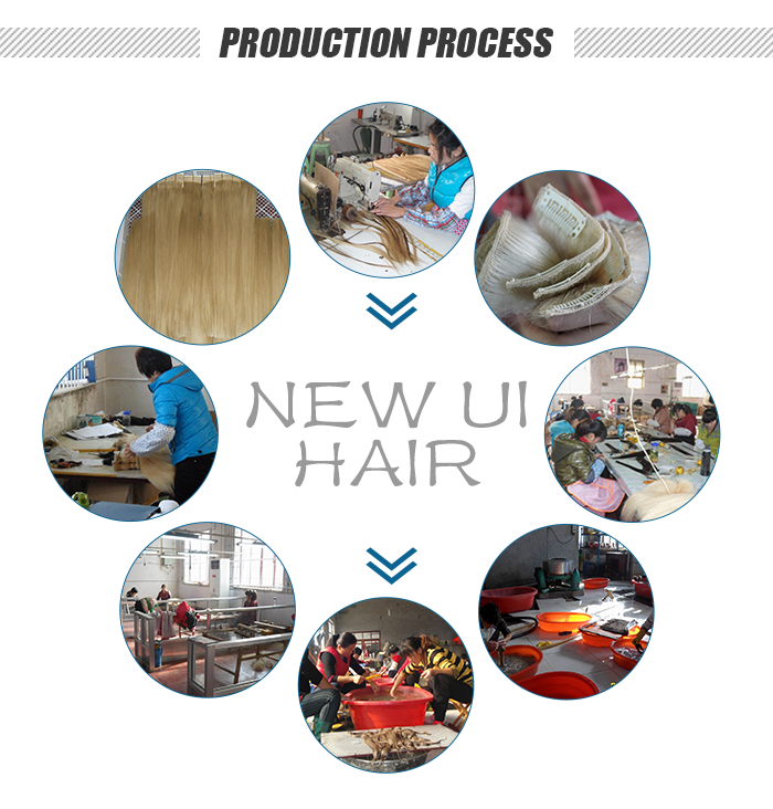 new ui hairproduction process