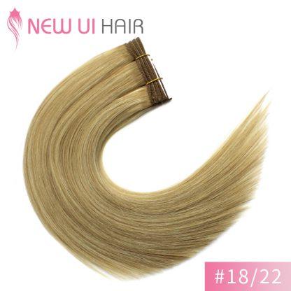 #18-22 weft hair