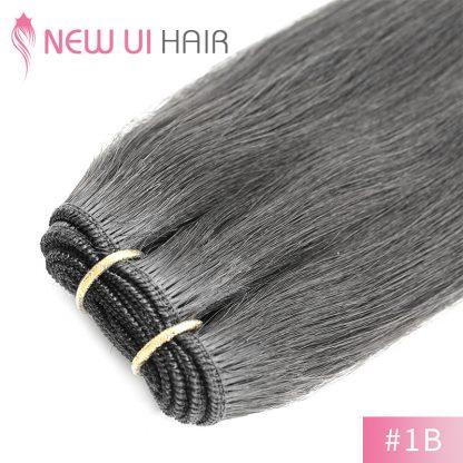 #1B weft hair