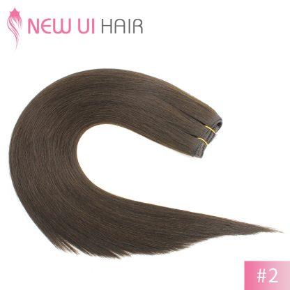 #2 weft hair