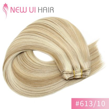 #613-10 weft hair