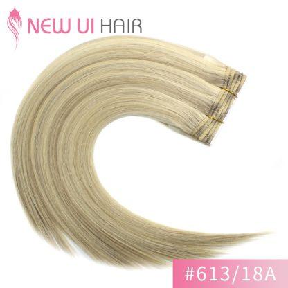 #613-18A weft hair