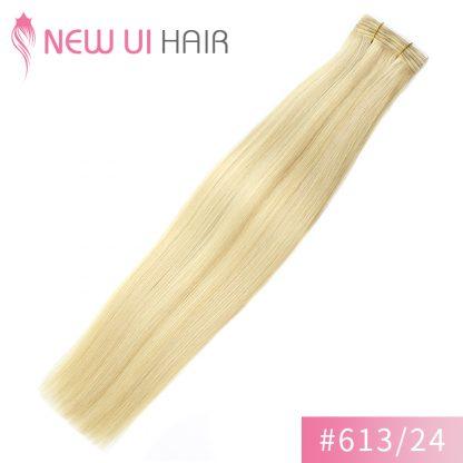#613-24 weft hair