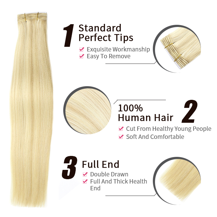 weft hair product show