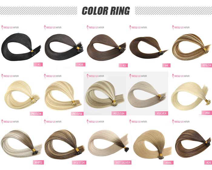 flat tip color ring