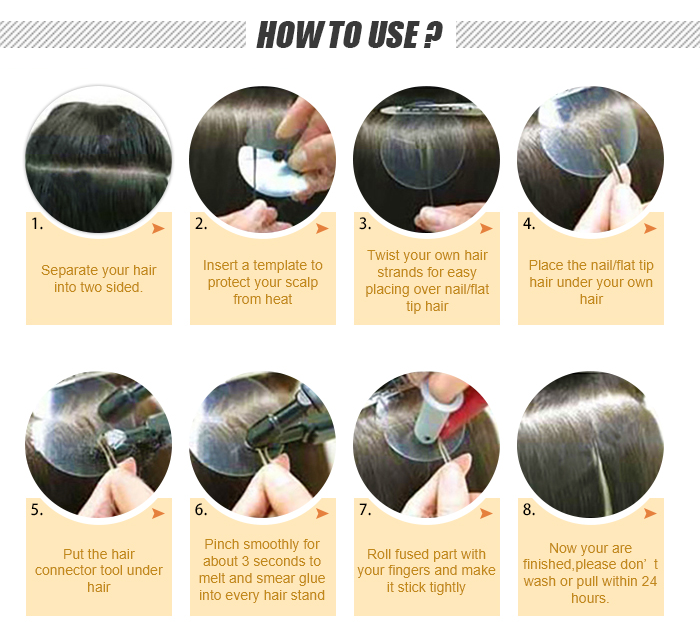 flat tip how to use