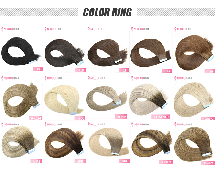 tape hair color ring